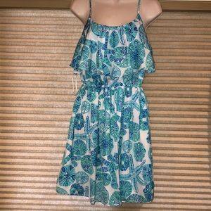 Lilly Pulitzer by Target Sea Urchin Ruffled Dress